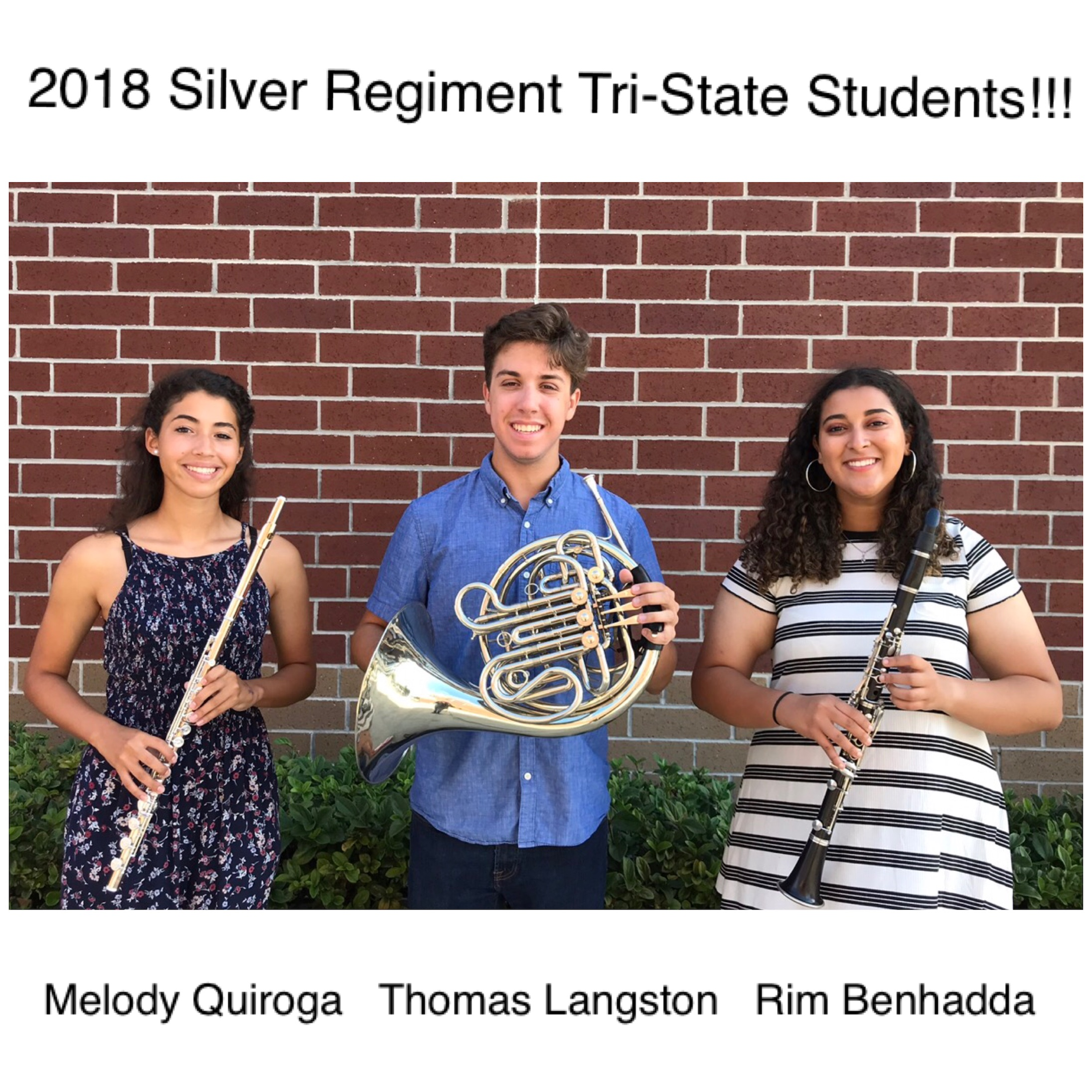 2018 Tri-State Students